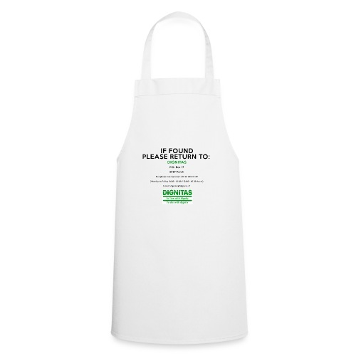 dignitas - If found please return - Cooking Apron