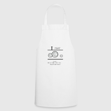 Volleyball, beach volleyball, volleyball girls - Cooking Apron