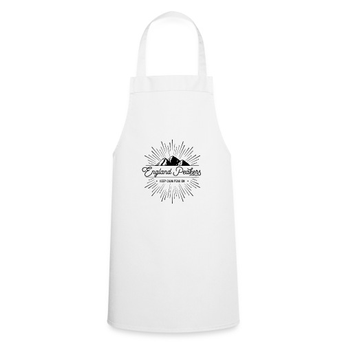 EnglandPeakers black logo - Cooking Apron