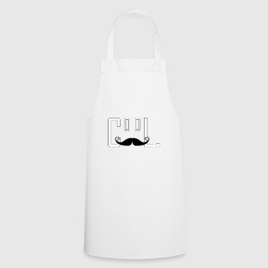 Haute couture gift cool like a sir mustache - Cooking Apron