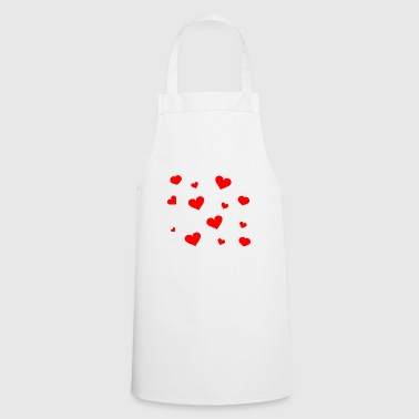Hearts Hearts Love - Cooking Apron
