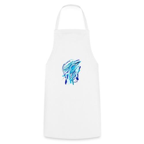 Blaue fünferkonstellation - Kochschürze