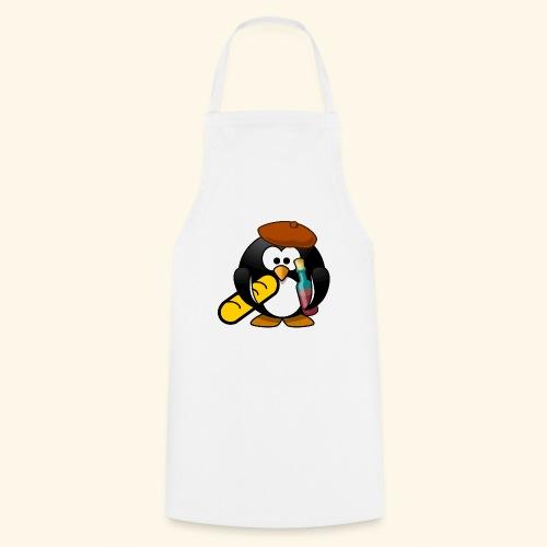 Französisch Baguette Pinguin Stereotyp - Kochschürze