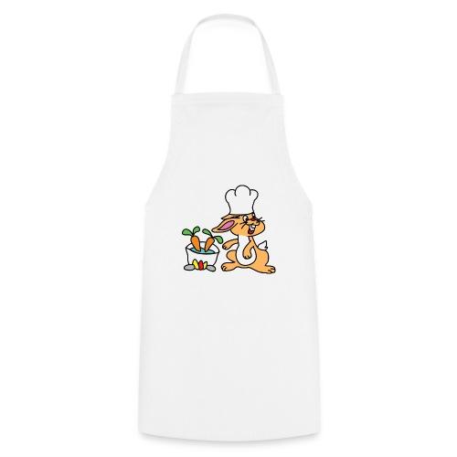 Chefkopf Hase - Kochschürze