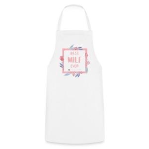 Best MILF ever - Milfcafé Shirt - Kochschürze