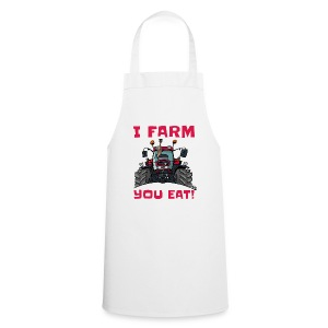 I farm you eat case - Keukenschort