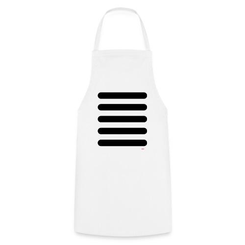 Streifen Schwarz Weiß - Kochschürze