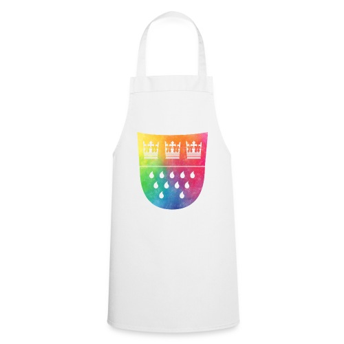 Kölner Wappen Rainbow - Kochschürze