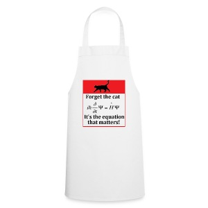 Forget the cat! - Cooking Apron