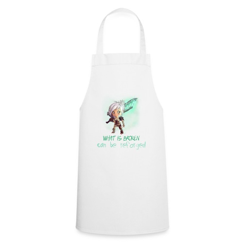 Chibi Riven con scritta DONNA - Grembiule da cucina