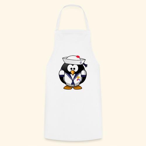 Pingouin Marin d'Amour - Tablier de cuisine