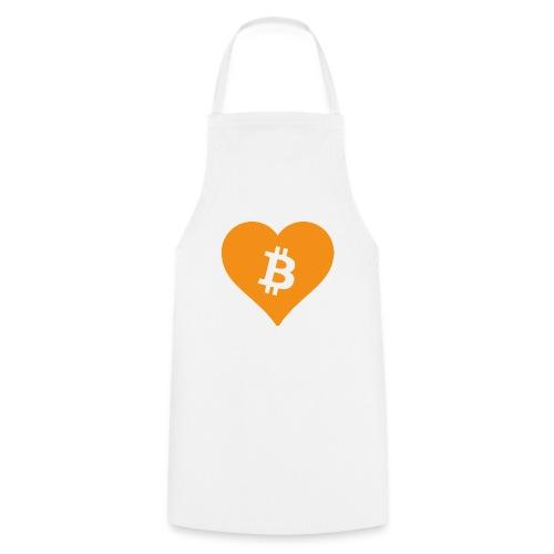 Bitcoin Heart - Keukenschort