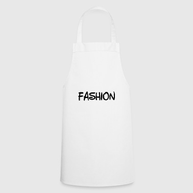 Fashion Text - Cooking Apron