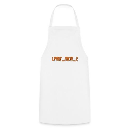LPMIT_Meik_2 Schriftzug Orange - Kochschürze
