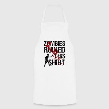 Zombies pilalla tämä paita | Undead maaliskuu! - Esiliina