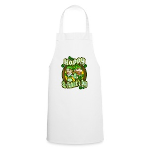 St- Patricks Day couple holiday gift surprise - Kochschürze