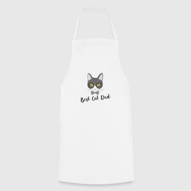 Bester Katzenvater Katzenpappi Katze Pappa T-Shirt - Kochschürze
