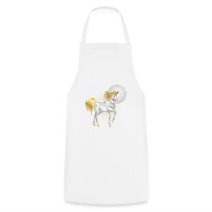 moonlight the unicorn - Cooking Apron
