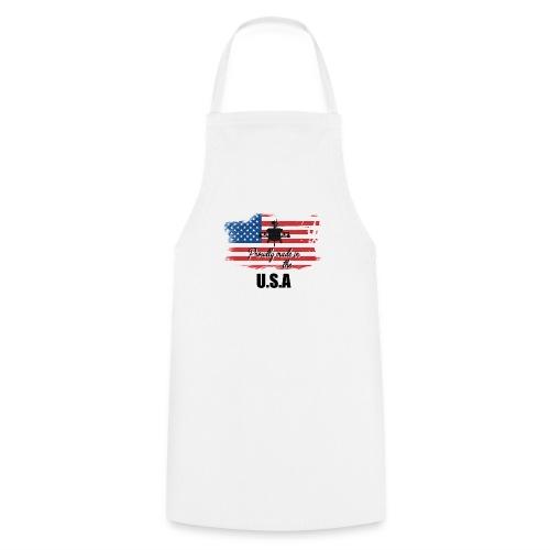 Proud American T-Shirt by Louittor - Kochschürze