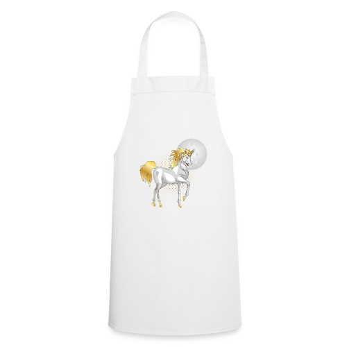 moonlight the unicorn - Cooking Apron
