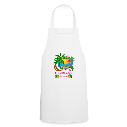 Cute Tropical Flamingo Hawaiian Design Sister Gift - Cooking Apron