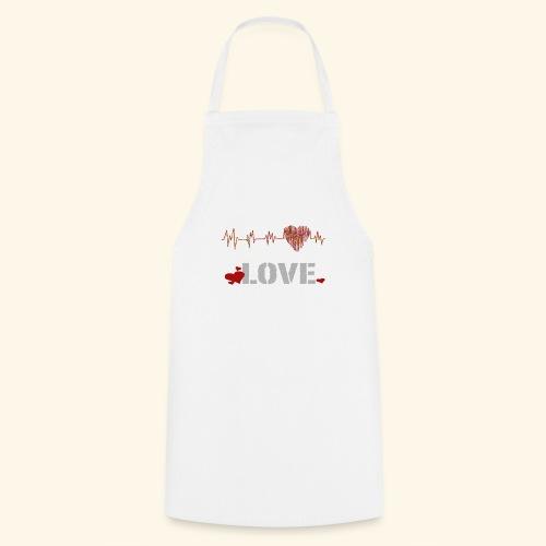 love herzfrequenz - Kochschürze