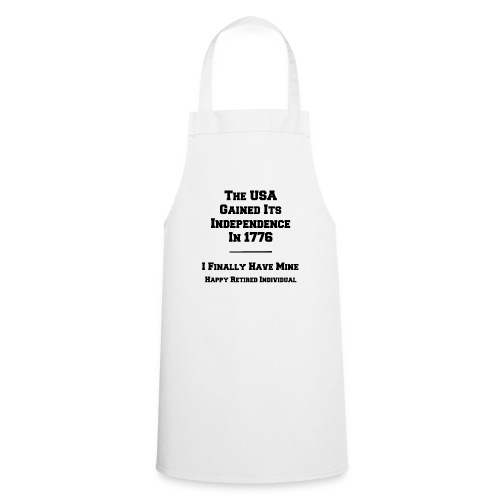 Celebrate your own Independence Day! - Cooking Apron