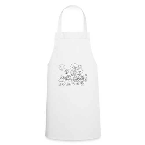 Colour Your Own Kids T-Shirt - Cooking Apron