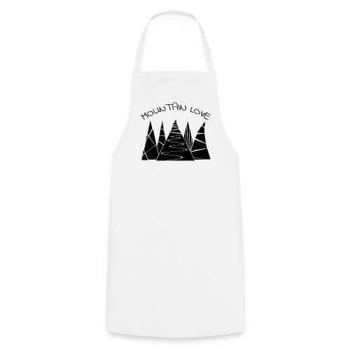 Outdoor Berge Alpen Mountain Love - Kochschürze