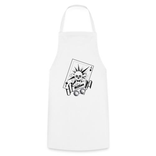 t shirt petanque milieu crane rieur as pointe tir - Tablier de cuisine