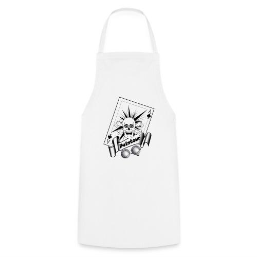 t shirt petanque pointeur crane rieur boules - Tablier de cuisine