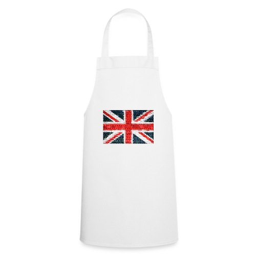 Union Jack Brick Wall - Cooking Apron