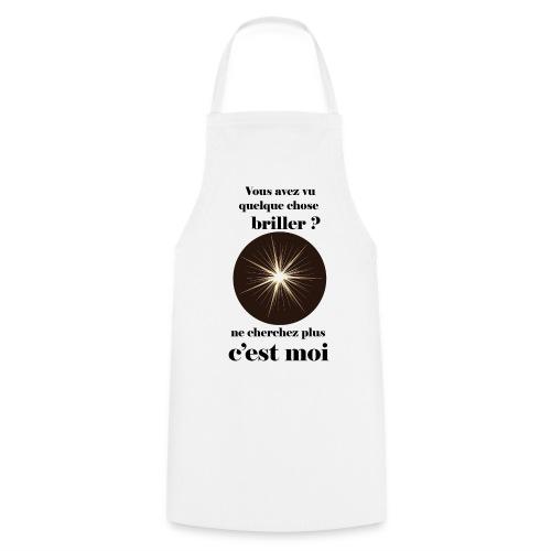 Lorgnette brillant ...amoureux ou inspiré FC - Tablier de cuisine