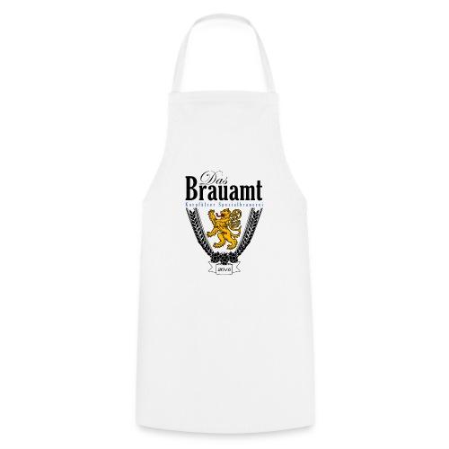 Brauamt Logo schwarz - Kochschürze