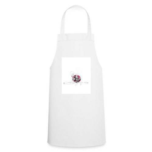 red lady - Cooking Apron