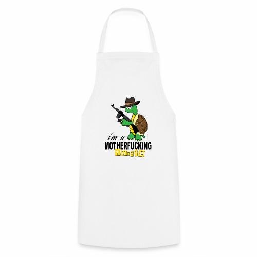 Gangster Schildkröte Geschenk Cool - Kochschürze
