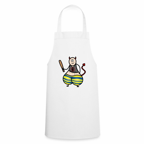 Devil No Touchies Charlie - Cooking Apron