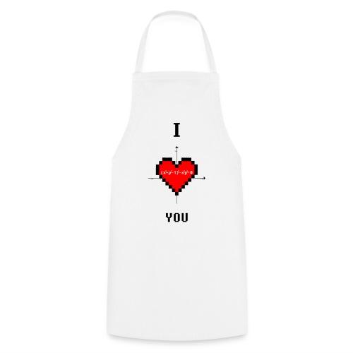 I LOVE YOU - Grembiule da cucina