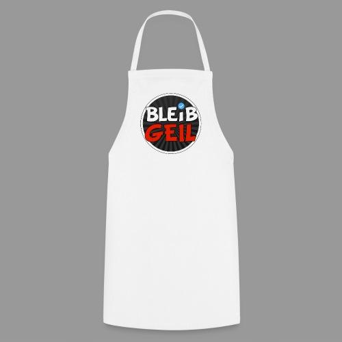 BleibGeil RotSchwarz - Kochschürze