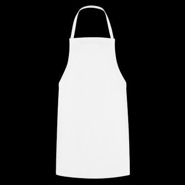 Heer monocle snor baard cilindrische glazen - Keukenschort