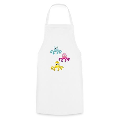 Tintenfisch ❤ - Kochschürze