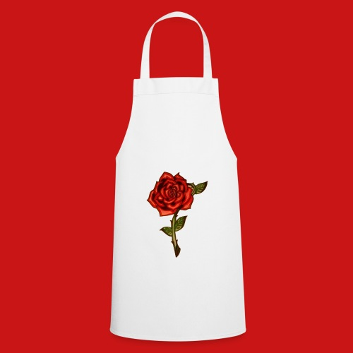 Red Rose - Grembiule da cucina