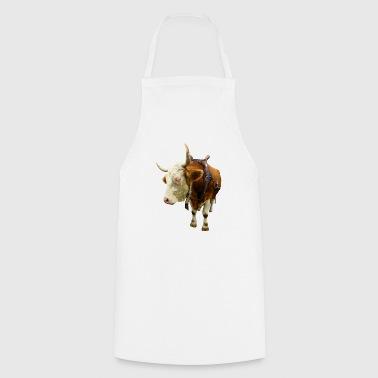 krowa krowa wołowina wołowina zwierzę - Fartuch kuchenny