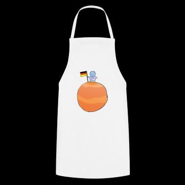 Spaceman (niemiecki) - Fartuch kuchenny
