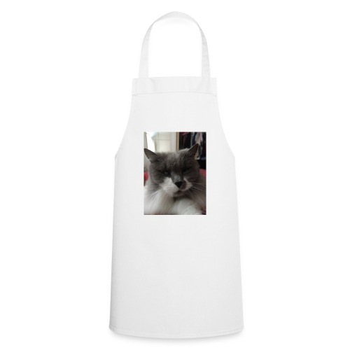 Moody cat - Cooking Apron