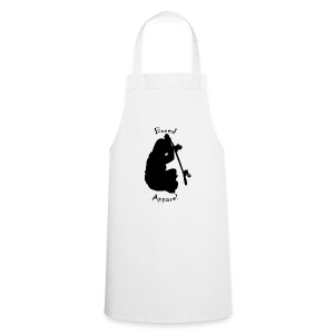black bored apparel logo - Cooking Apron