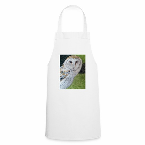 Curious Scottish owl - Cooking Apron