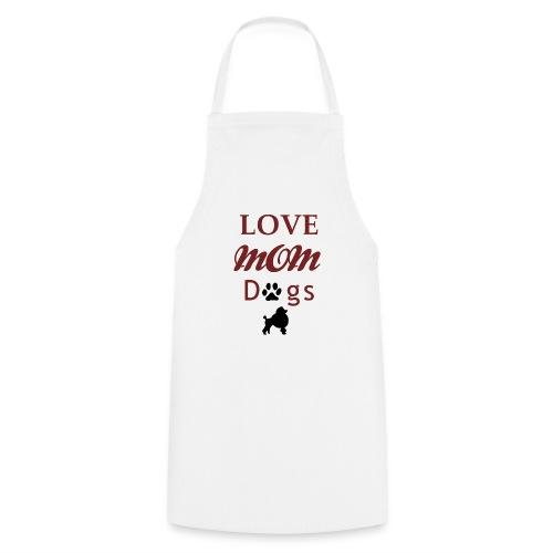 Mama Liebe Hunde Chiwawa transparent modi - Kochschürze