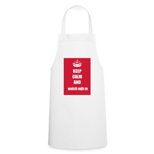 Keep calm watch mjb m - Cooking Apron