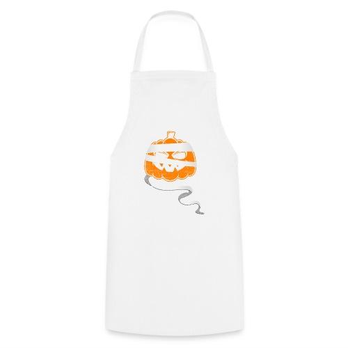 Halloween Bandaged Pumpkin - Kochschürze